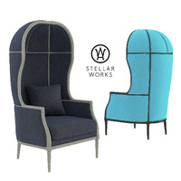 Laval Crown Chair by Stellar Works