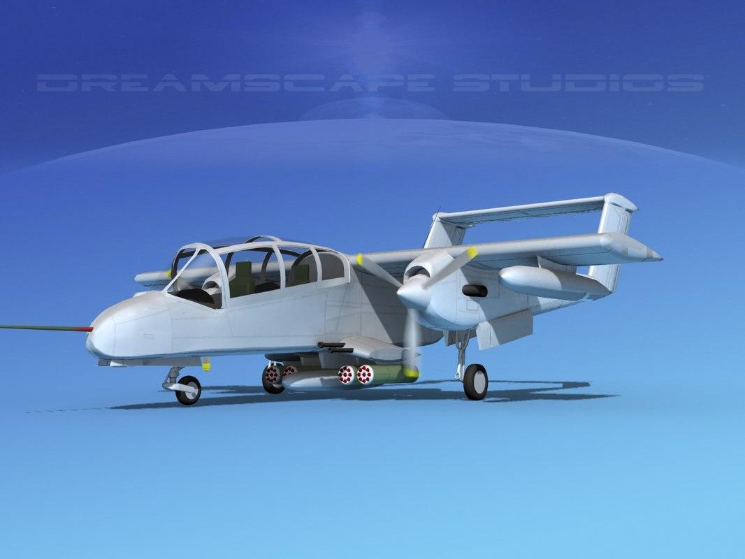 3d propellers rockwell ov-10 bronco