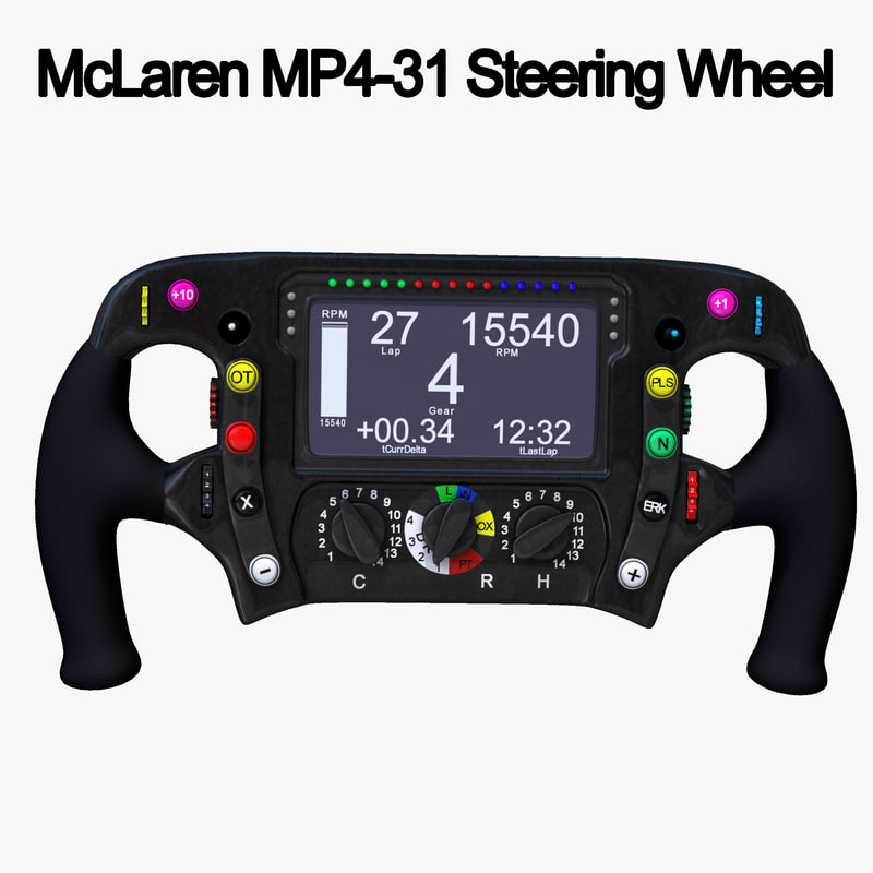 steering wheel 1 3d max