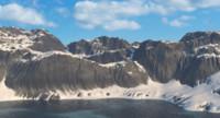 arctic landscape mountain 3d max