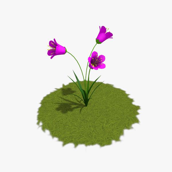 cartoon plants 3d max