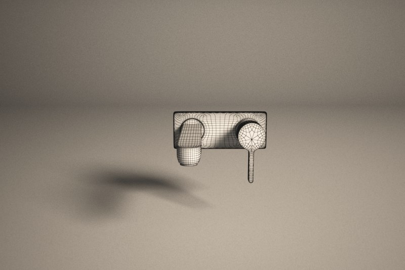 3d model of faucet