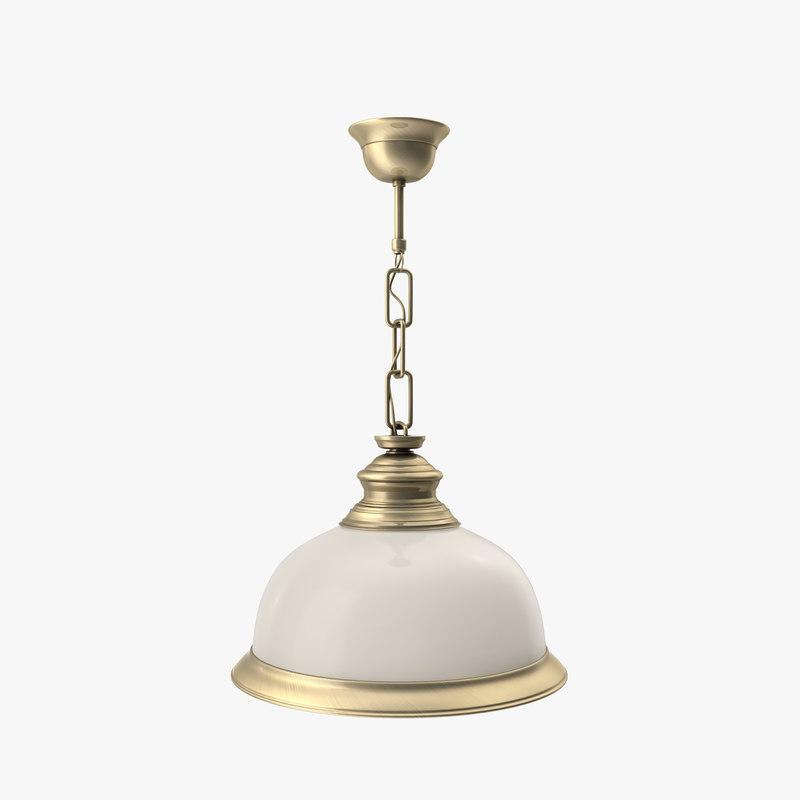 3d model chandelier kutek lido lid-zw-1