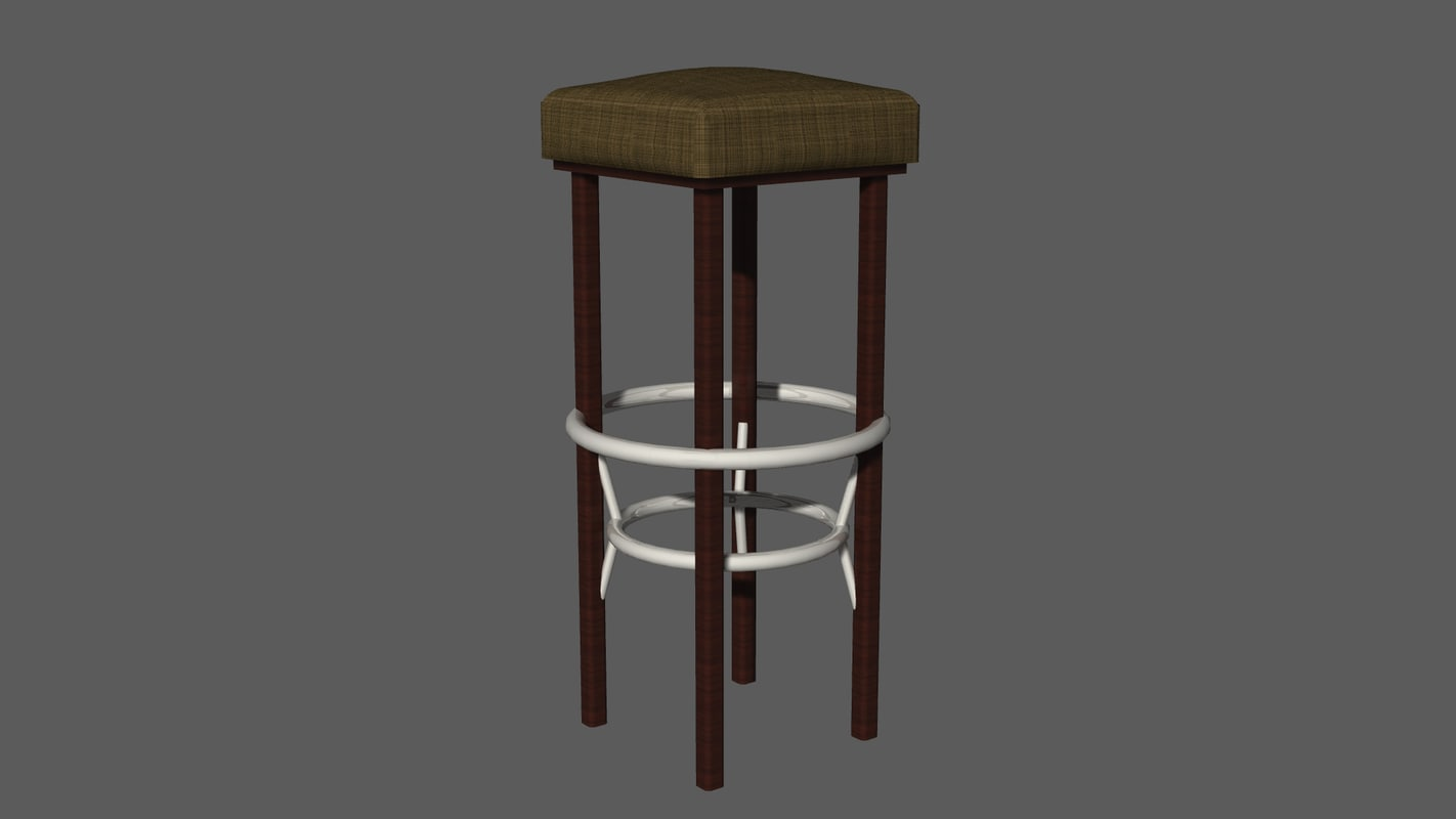 free dwg mode bar stool