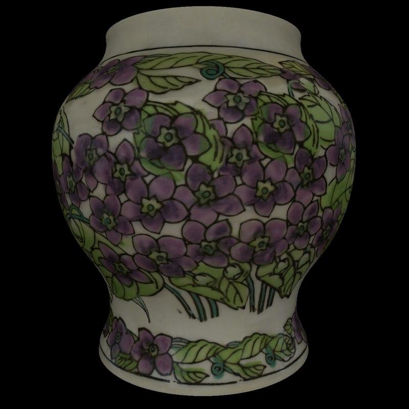 ceramic vase obj