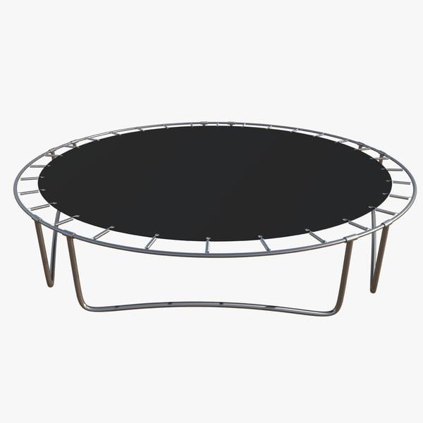 3d obj trampoline 2016 quads