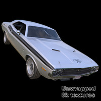 Dodge Challenger RT 1971 - Classic Muscle Car