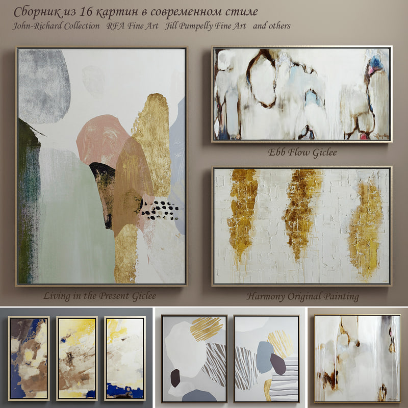 3d paintings john-richard art model