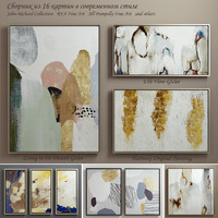 The collection of contemporary paintings set-5