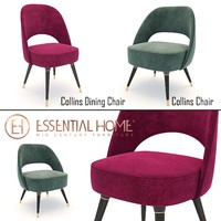 3d model collins chair dining
