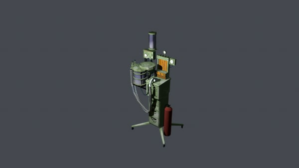 artificial respiration apparatus 3d model