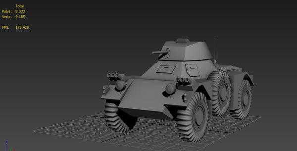 3d model ferret scout