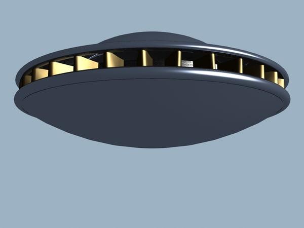 classic mexico 1963 ufo 3d max