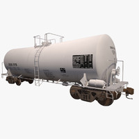 Railroad tankcar T104 CRGX white