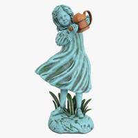 3d statue girl
