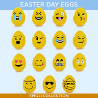 easter eggs emoji collection