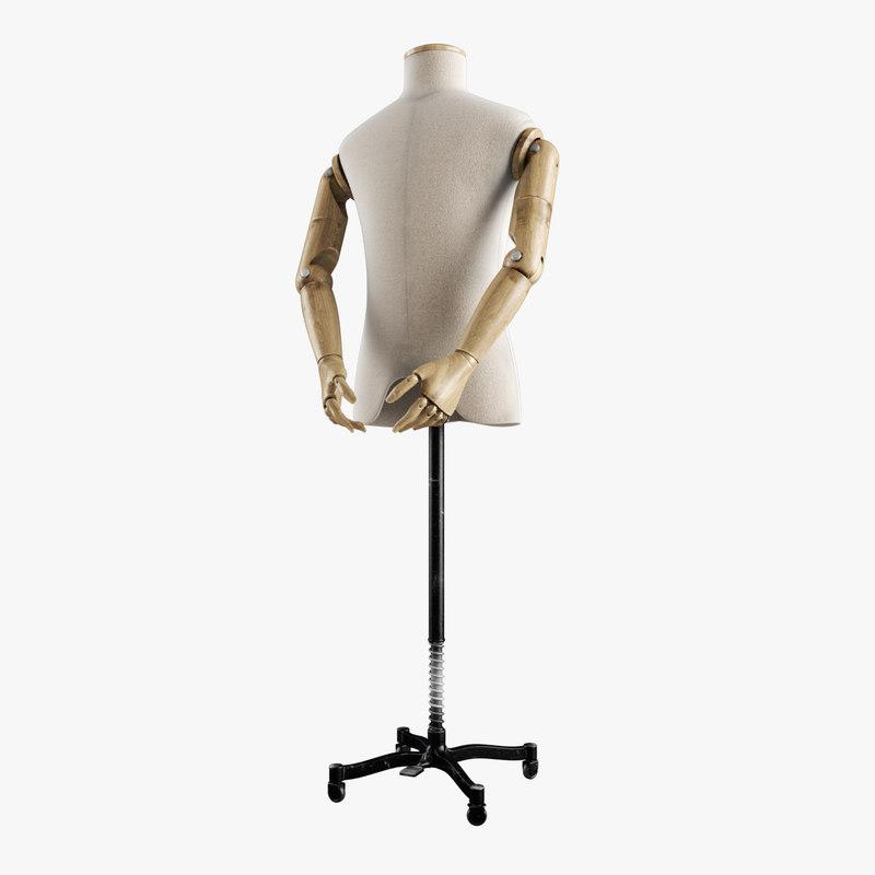 vintage mannequin male max