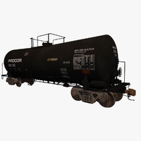 Railroad tankcar T104 PROCOR