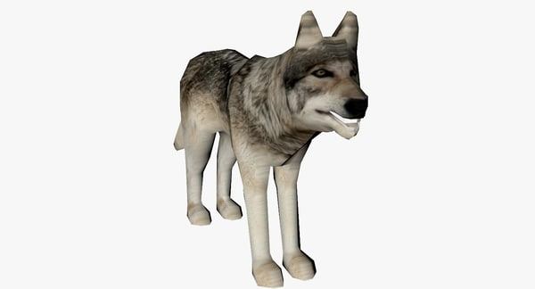 grey wolf 3d 3ds