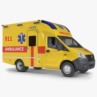ambulance gazzele 3ds