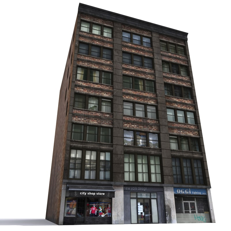 3d nyc building model