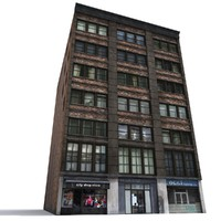3d nyc building model