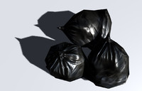 garbage bag obj