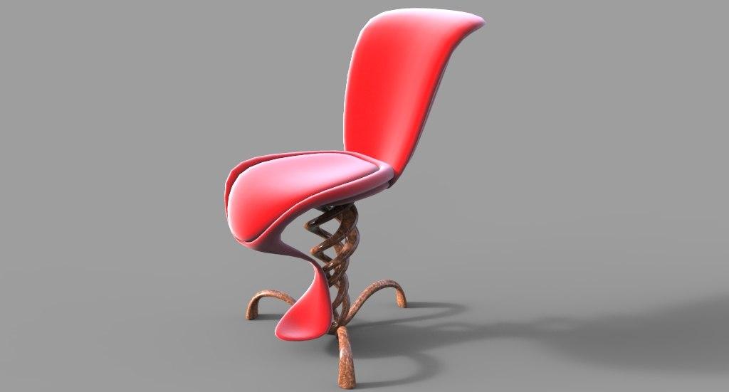 obj bionic chair