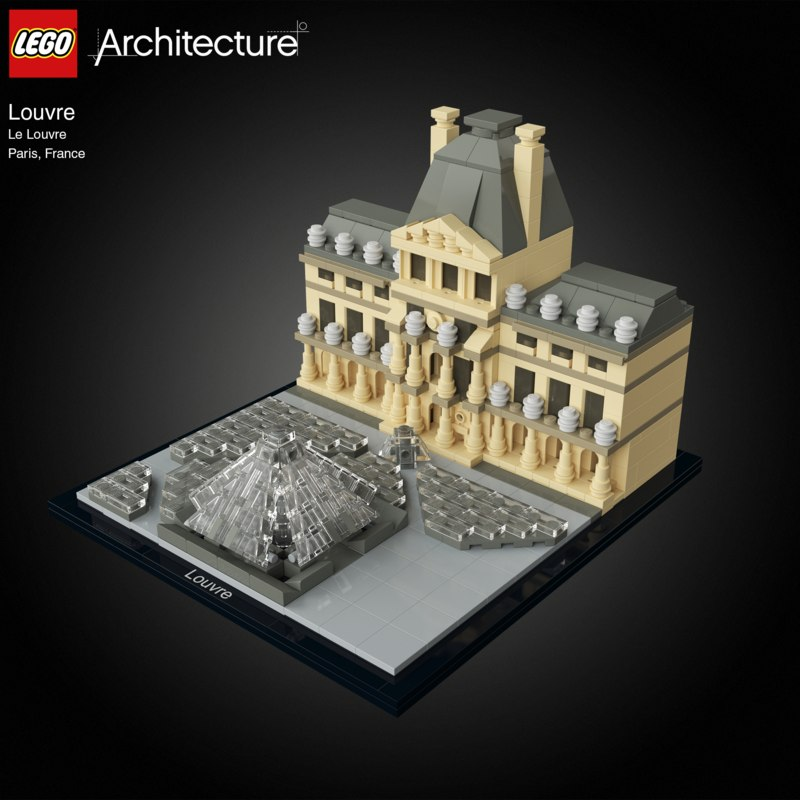max lego louvre
