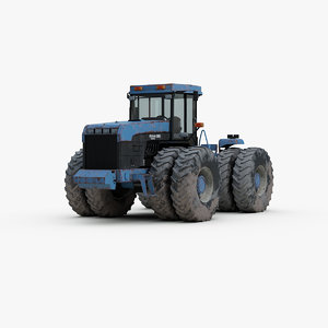 new holland tractor 3d max