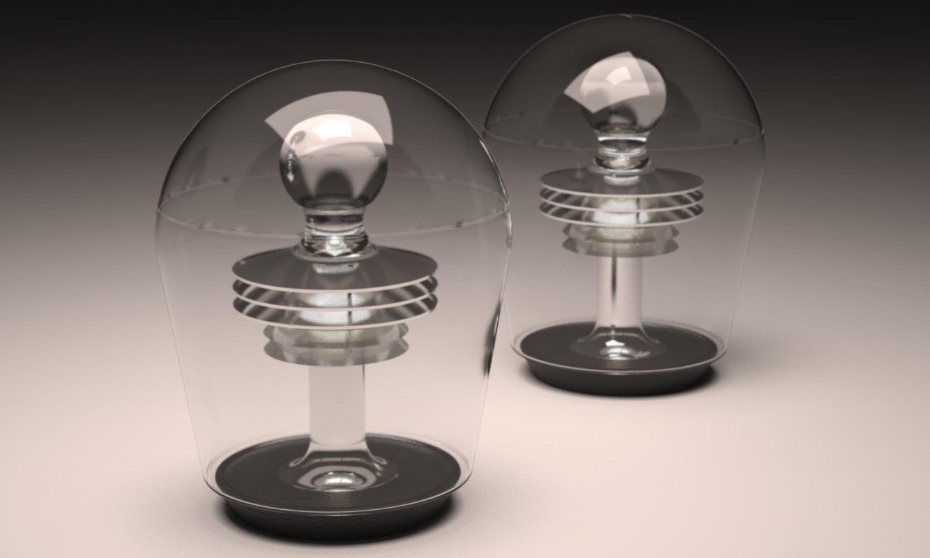 3d model bowla desk lamp 2017