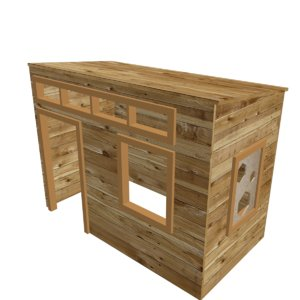 playhouse house 3d model
