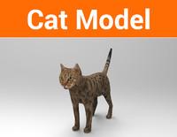 cat ready 3d 3ds