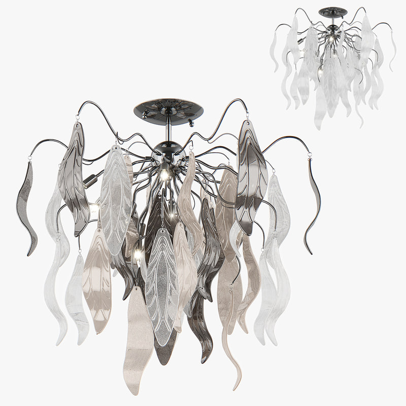 3d model of chandelier vetro lightstar