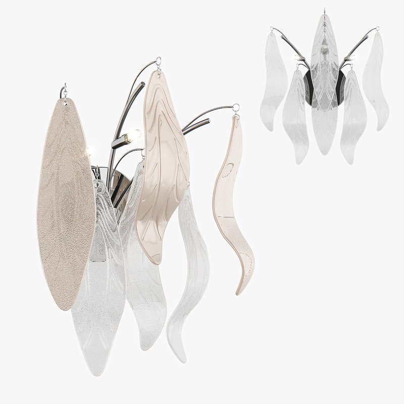 3d model sconce vetro lightstar