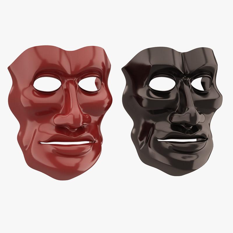 face mask 3d max