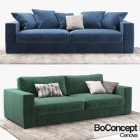 3d sofa boconcept cenova model
