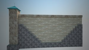 section fence estate 3d max