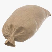 3d model of sandbag wwii 03 -