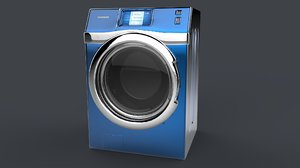 samsung wf457 smart washing machine 3d obj