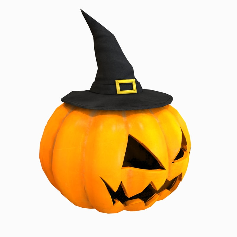 pumpkin head 3d max