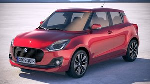 3d suzuki swift 2018 model