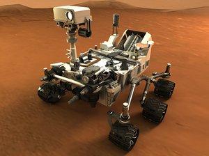 curiosity mars rover fbx
