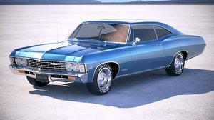 3d model chevrolet impala ss