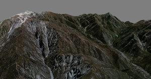 mesh mountain san antonio fbx