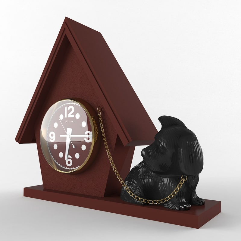 clock dog max