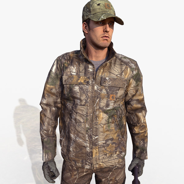 3d hunter carhartt -