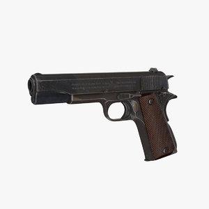 3d pistol - rc model