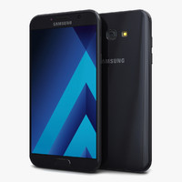 samsung galaxy a7 2017 3d model