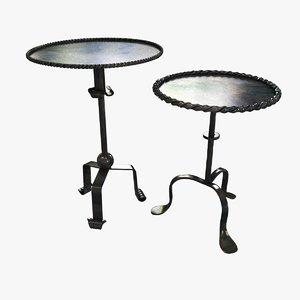 3ds tables 2 metal custom